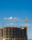 Multistory Building Construction Royalty Free Stock Photos - 9361448