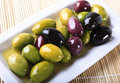 Olives And Oil Stock Images - 9362554