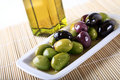 Olives And Oil Royalty Free Stock Image - 9362556