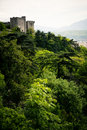 Mountain Top Castle Royalty Free Stock Photography - 9363077
