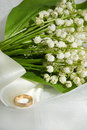 Lily-of-the-valley And Wedding Ring Royalty Free Stock Photo - 9366365