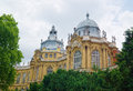 Buildings Of The Vajdahunyad Castle In Budapest, Hungary Royalty Free Stock Photos - 93610108