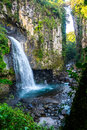Waterfall Of Mexico Xico Veracruz Fog Forrest Stock Photos - 93648973