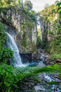 Waterfall Of Mexico Xico Veracruz Fog Forrest Stock Photos - 93649013