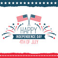 Independence Day Of The United States Poster Set Royalty Free Stock Images - 93670729