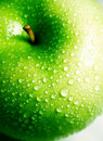 Clean Crisp Fresh Green Apple Royalty Free Stock Image - 9371076