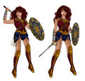 Wonder Woman Superhero Royalty Free Stock Image - 93703466