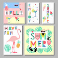 Summer Bright Memphis Style Elements Set. Design With Geometric Elements Food Stock Images - 93745684