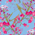 Floral Seamless Pattern Stock Photo - 93757540