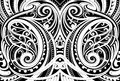 Maori Ethnic Ornament Stock Photo - 93784590
