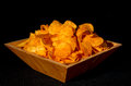 Bowl Of Potato Chips Stock Photo - 93810060