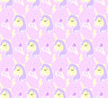 Magic Unicorn Seamless Pattern. Modern Fairytale Endless Textures, Magical Repeating Backgrounds. Cute Baby Backdrops Royalty Free Stock Photo - 93851205
