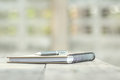 Pen And Notebook On Wood Desk Royalty Free Stock Image - 93944206