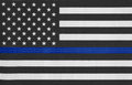 USA Thin Blue Line Flag Royalty Free Stock Photography - 93965637