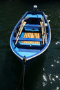 Blue Row Boat Stock Images - 941604