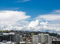 Queen Anne Hill Overlooking Seattle Royalty Free Stock Image - 94003186