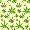 Green Marijuana Background Vector Illustration Seamless Pattern Marihuana Leaf Herb Narcotic Textile Stock Image - 94008251