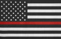 United States Of America Thin Red Line Flag Royalty Free Stock Photo - 94031035
