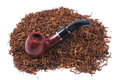 Pipe And Tobacco Isolated On White Royalty Free Stock Image - 94067216