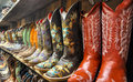 Wall Of Cowboy Boots Stock Photo - 94069260