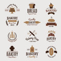 Bakery Badge Icon Fashion Modern Style Wheat Vector Label Design Element Confectioner Sweet-shop Loaf And Bread Logo Royalty Free Stock Image - 94079726