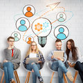 Team Work Concept Royalty Free Stock Images - 94097309