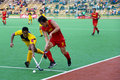 Men S Asia Cup Hockey 2009 3rd Placing Royalty Free Stock Photography - 9411307