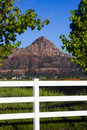 Zion Butte From Apple Valley Stock Images - 94101934