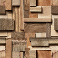 Seamless Wood Block Background Royalty Free Stock Images - 94108179