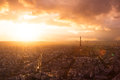 Paris Skyline With Eiffel Tower Royalty Free Stock Images - 94111769