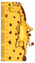 Height Measurement Chart With Giraffe In Background Royalty Free Stock Photo - 94114935