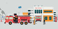 Fire Station Stock Images - 94114964