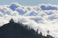 Clouds Above Mountain High Royalty Free Stock Photo - 94129285