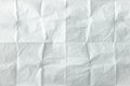 White Sheet Of Paper Folded. Crushed And Folded White Sheet Of Old Paper. Note Paper. Wrinkled Paper Royalty Free Stock Photo - 94140995
