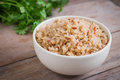 Brown Rice In Bowl Stock Images - 94155374
