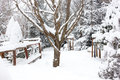 Winter Ski Chalet And Cabin In Snow Mountain Stock Photo - 94176970
