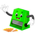 Pencil Sharpener Cartoon Royalty Free Stock Image - 94182546