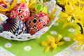 Painted Easter Egg Stock Image - 9420101