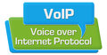VoIP - Voice Over Internet Protocol Green Blue Comment Symbol Royalty Free Stock Photo - 94216475