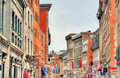 Buildings On St Paul Street In Old Montreal, Canada Royalty Free Stock Image - 94237226