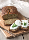 Zucchini Bread On The Wooden Board Royalty Free Stock Photos - 94239818