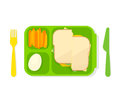 Open Lunch Box Stock Photo - 94251800