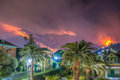 Fire Caused By Drought. Royalty Free Stock Image - 94270686