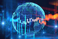 Technical Financial Graph On Technology Abstract Background Royalty Free Stock Image - 94282616