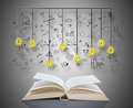 Creativity Concept Above A Book Royalty Free Stock Images - 94301209
