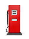 3d Rendering Of Red Gas Pump In Front View Isolated On White Background. Royalty Free Stock Image - 94324146