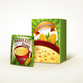 Corn Soup Package Design Stock Images - 94367464
