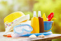 Sun Protection Cream For Children Royalty Free Stock Image - 94433616