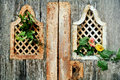 Detail Of Ancient  Door Detail With Flower Royalty Free Stock Photos - 94459738