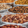 Spices In Bags On The Indian Market Royalty Free Stock Photos - 94461038